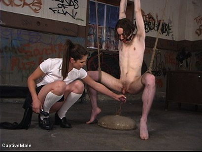 Photo number 4 from Bobbi's Bitch shot for Captive Male on Kink.com. Featuring Kade and Bobbi Starr in hardcore BDSM & Fetish porn.