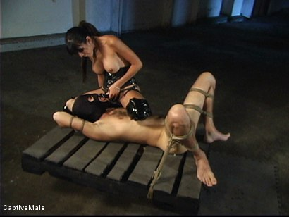 Photo number 16 from First he Must Earn Her Pussy shot for Captive Male on Kink.com. Featuring shy love and Lefty in hardcore BDSM & Fetish porn.