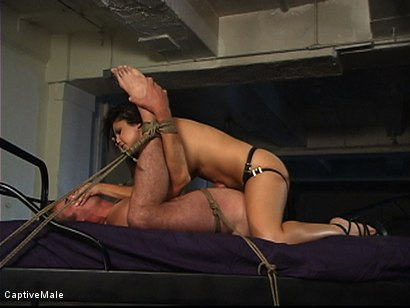 Photo number 10 from Sativa Rose's Bad Date shot for Captive Male on Kink.com. Featuring Sativa Rose and Mark Frenchy in hardcore BDSM & Fetish porn.
