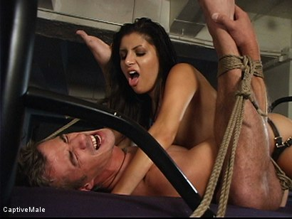 Photo number 15 from Sativa Rose's Bad Date shot for Captive Male on Kink.com. Featuring Sativa Rose and Mark Frenchy in hardcore BDSM & Fetish porn.