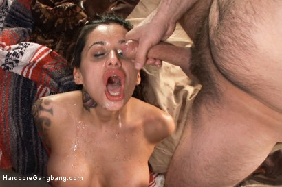 Photo number 11 from Busty Latina Discovers Orgasmic Transcendence of Sexual Submission  shot for Hardcore Gangbang on Kink.com. Featuring John Strong, Bill Bailey, Tommy Pistol and Alby Rydes in hardcore BDSM & Fetish porn.