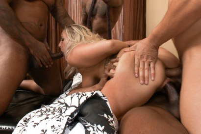 Photo number 7 from Busty MILF Orders Four Big Black Cocks to Fuck While her Husbands Away shot for Hardcore Gangbang on Kink.com. Featuring Prince Yahshua, Angel Allwood, Jon Jon, D Snoop and Rico Strong in hardcore BDSM & Fetish porn.