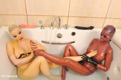 Photo number 9 from Bizarre bath encounter! shot for DDF Network on Kink.com. Featuring  in hardcore BDSM & Fetish porn.