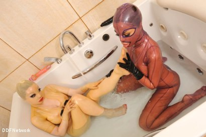 Photo number 10 from Bizarre bath encounter! shot for DDF Network on Kink.com. Featuring  in hardcore BDSM & Fetish porn.