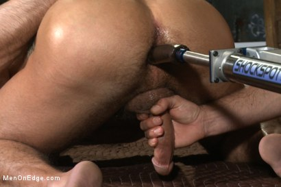 Photo number 12 from Muscled hunk taken and edged against his will  shot for Men On Edge on Kink.com. Featuring Dirk Caber in hardcore BDSM & Fetish porn.