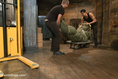 Photo number 1 from Muscled hunk taken and edged against his will  shot for Men On Edge on Kink.com. Featuring Dirk Caber in hardcore BDSM & Fetish porn.