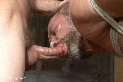 Photo number 14 from Muscled hunk taken and edged against his will  shot for Men On Edge on Kink.com. Featuring Dirk Caber in hardcore BDSM & Fetish porn.