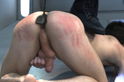 Photo number 3 from Onyx Recruit shot for Bound Gods on Kink.com. Featuring Tyler Sweet and Trenton Ducati in hardcore BDSM & Fetish porn.