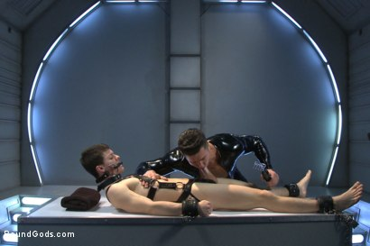 Photo number 11 from Onyx Recruit shot for Bound Gods on Kink.com. Featuring Tyler Sweet and Trenton Ducati in hardcore BDSM & Fetish porn.