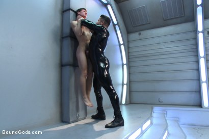 Photo number 4 from Onyx Recruit shot for Bound Gods on Kink.com. Featuring Tyler Sweet and Trenton Ducati in hardcore BDSM & Fetish porn.