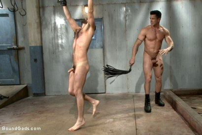 Photo number 12 from A helpless vagrant gets hosed down and fucked by the creepy handyman shot for Bound Gods on Kink.com. Featuring Trenton Ducati and Rich Kelly in hardcore BDSM & Fetish porn.