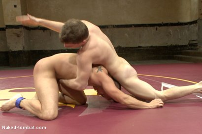 "Photo number 4 from Eli ""The Hammer"" Hunter vs Doug ""The Destroyer"" Acre - Big Dick Match shot for Naked Kombat on Kink.com. Featuring Eli Hunter and Doug Acre in hardcore BDSM & Fetish porn."