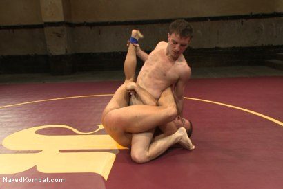 "Photo number 5 from Eli ""The Hammer"" Hunter vs Doug ""The Destroyer"" Acre - Big Dick Match shot for Naked Kombat on Kink.com. Featuring Eli Hunter and Doug Acre in hardcore BDSM & Fetish porn."