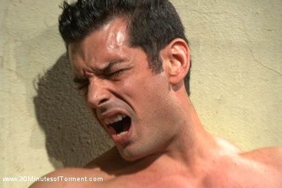 Photo number 2 from Uncut Bodybuilder - The Wall - The Pit - The Bamboo Garden shot for 30 Minutes of Torment on Kink.com. Featuring Marcus Ruhl in hardcore BDSM & Fetish porn.
