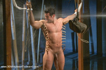 Photo number 12 from Uncut Bodybuilder - The Wall - The Pit - The Bamboo Garden shot for 30 Minutes of Torment on Kink.com. Featuring Marcus Ruhl in hardcore BDSM & Fetish porn.