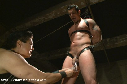 Photo number 7 from Uncut Bodybuilder - The Wall - The Pit - The Bamboo Garden shot for 30 Minutes of Torment on Kink.com. Featuring Marcus Ruhl in hardcore BDSM & Fetish porn.