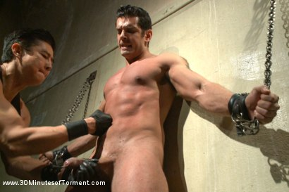 Photo number 1 from Uncut Bodybuilder - The Wall - The Pit - The Bamboo Garden shot for 30 Minutes of Torment on Kink.com. Featuring Marcus Ruhl in hardcore BDSM & Fetish porn.