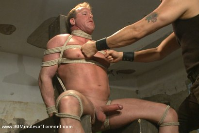 Photo number 1 from Bringing Back Some of Our Favorites!: The Indestructible Derek Pain shot for 30 Minutes of Torment on Kink.com. Featuring Derek Pain in hardcore BDSM & Fetish porn.