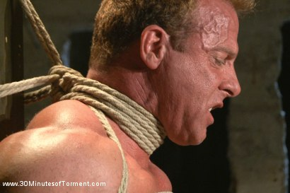 Photo number 2 from Bringing Back Some of Our Favorites!: The Indestructible Derek Pain shot for 30 Minutes of Torment on Kink.com. Featuring Derek Pain in hardcore BDSM & Fetish porn.