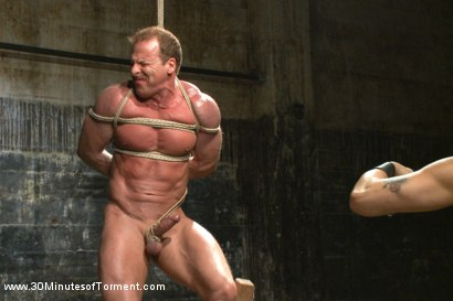 Photo number 6 from Bringing Back Some of Our Favorites!: The Indestructible Derek Pain shot for 30 Minutes of Torment on Kink.com. Featuring Derek Pain in hardcore BDSM & Fetish porn.
