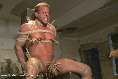 Photo number 5 from Bringing Back Some of Our Favorites!: The Indestructible Derek Pain shot for 30 Minutes of Torment on Kink.com. Featuring Derek Pain in hardcore BDSM & Fetish porn.