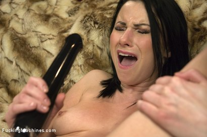 Photo number 4 from OMG NYMPH! She hot, fun & hot & sexy & does double ANAL & DP & is HOT! shot for Fucking Machines on Kink.com. Featuring Veruca James in hardcore BDSM & Fetish porn.