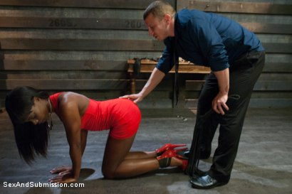 Photo number 2 from Date Night shot for Sex And Submission on Kink.com. Featuring Ana Foxxx and Mr. Pete in hardcore BDSM & Fetish porn.
