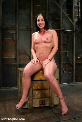 Photo number 15 from Julie Night shot for Hogtied on Kink.com. Featuring Julie Night in hardcore BDSM & Fetish porn.