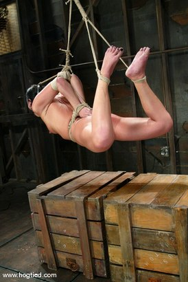Photo number 8 from Julie Night shot for Hogtied on Kink.com. Featuring Julie Night in hardcore BDSM & Fetish porn.