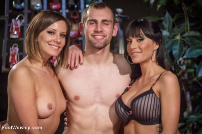 Photo number 5 from Obsessed foot fanatic punished and made to worship sweaty feet! shot for Foot Worship on Kink.com. Featuring Gia DiMarco, Blake and Maitresse Madeline Marlowe in hardcore BDSM & Fetish porn.