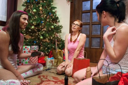 Photo number 6 from Anal Girls Slumber Holiday shot for Everything Butt on Kink.com. Featuring Penny Pax, Veruca James and Casey Calvert in hardcore BDSM & Fetish porn.