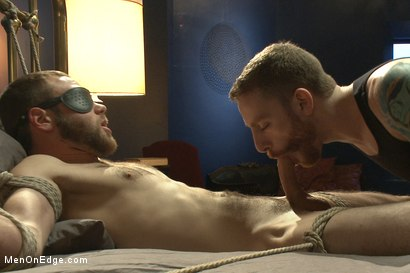 Photo number 12 from Straight Stud's First Boy Boy Experience shot for Men On Edge on Kink.com. Featuring Jesse Carl in hardcore BDSM & Fetish porn.