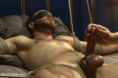 Photo number 13 from Straight Stud's First Boy Boy Experience shot for Men On Edge on Kink.com. Featuring Jesse Carl in hardcore BDSM & Fetish porn.