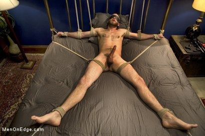 Photo number 14 from Straight Stud's First Boy Boy Experience shot for Men On Edge on Kink.com. Featuring Jesse Carl in hardcore BDSM & Fetish porn.