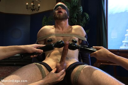 Photo number 2 from Straight Stud's First Boy Boy Experience shot for Men On Edge on Kink.com. Featuring Jesse Carl in hardcore BDSM & Fetish porn.