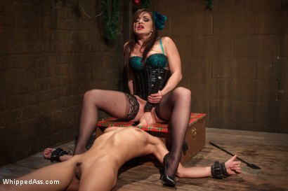 Photo number 4 from Holiday Lesbian Affair shot for Whipped Ass on Kink.com. Featuring Lea Lexis and Lyla Storm in hardcore BDSM & Fetish porn.