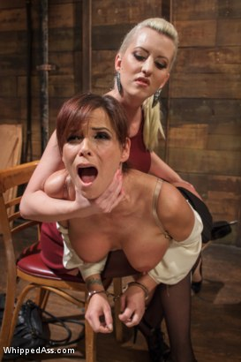 Photo number 3 from MILF librarian anal fucked into submission! shot for Whipped Ass on Kink.com. Featuring Cherry Torn and Syren de Mer in hardcore BDSM & Fetish porn.
