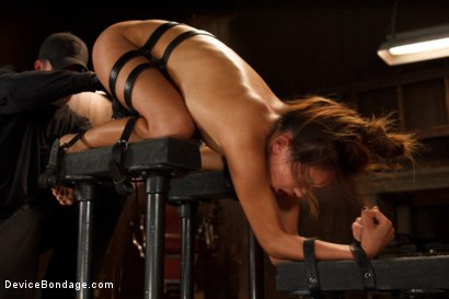 Photo number 5 from Petite Asian Bondage Virgin, Gets a Dose of Suffering shot for Device Bondage on Kink.com. Featuring Alina Li in hardcore BDSM & Fetish porn.