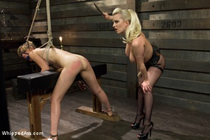 Photo number 7 from Dominating A Dominatrix shot for Whipped Ass on Kink.com. Featuring Cherry Torn and Mona Wales in hardcore BDSM & Fetish porn.