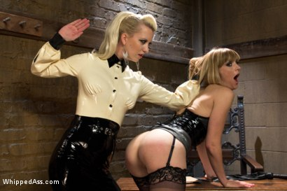 Photo number 11 from Dominating A Dominatrix shot for Whipped Ass on Kink.com. Featuring Cherry Torn and Mona Wales in hardcore BDSM & Fetish porn.