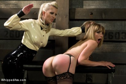 Photo number 4 from Dominating A Dominatrix shot for Whipped Ass on Kink.com. Featuring Cherry Torn and Mona Wales in hardcore BDSM & Fetish porn.