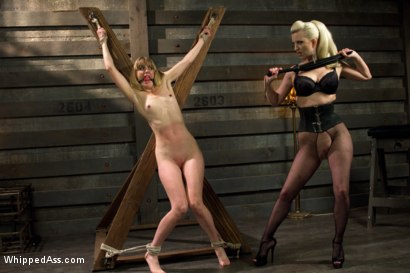 Photo number 5 from Dominating A Dominatrix shot for Whipped Ass on Kink.com. Featuring Cherry Torn and Mona Wales in hardcore BDSM & Fetish porn.