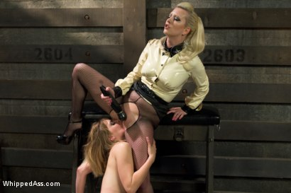 Photo number 2 from Dominating A Dominatrix shot for Whipped Ass on Kink.com. Featuring Cherry Torn and Mona Wales in hardcore BDSM & Fetish porn.