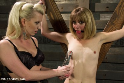 Photo number 6 from Dominating A Dominatrix shot for Whipped Ass on Kink.com. Featuring Cherry Torn and Mona Wales in hardcore BDSM & Fetish porn.