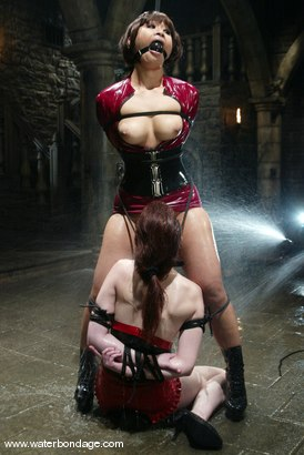 Photo number 4 from Justine Joli and DragonLily shot for Water Bondage on Kink.com. Featuring Justine Joli and DragonLily in hardcore BDSM & Fetish porn.