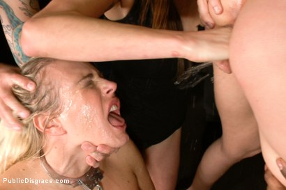 Photo number 13 from Annihilated at an orgiastic house party! shot for Public Disgrace on Kink.com. Featuring Tommy Pistol, Angel Allwood and Gia DiMarco in hardcore BDSM & Fetish porn.