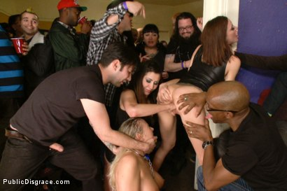 Photo number 12 from Annihilated at an orgiastic house party! shot for Public Disgrace on Kink.com. Featuring Tommy Pistol, Angel Allwood and Gia DiMarco in hardcore BDSM & Fetish porn.