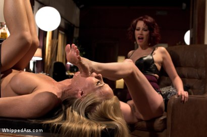 Photo number 13 from MILF Destroyed: Filthy Milfy Mommy Cunt shot for Whipped Ass on Kink.com. Featuring Maitresse Madeline Marlowe  and Simone Sonay in hardcore BDSM & Fetish porn.
