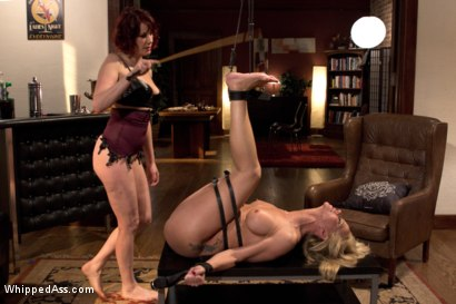 Photo number 14 from MILF Destroyed: Filthy Milfy Mommy Cunt shot for Whipped Ass on Kink.com. Featuring Maitresse Madeline Marlowe  and Simone Sonay in hardcore BDSM & Fetish porn.