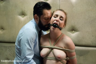 Photo number 6 from The 18 Year Old Anal Virgin shot for Sex And Submission on Kink.com. Featuring Tommy Pistol and Jessie Parker in hardcore BDSM & Fetish porn.